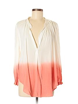 Olivaceous Long Sleeve Blouse Size M