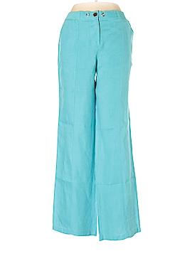 JM Collection Linen Pants Size 8