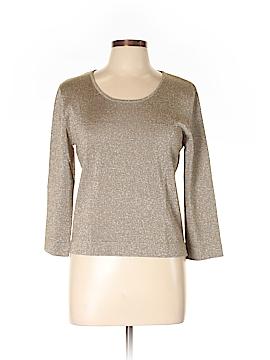 Carlisle 3/4 Sleeve Silk Top Size L