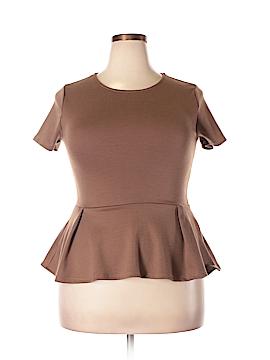 Doublju Short Sleeve Top Size XL