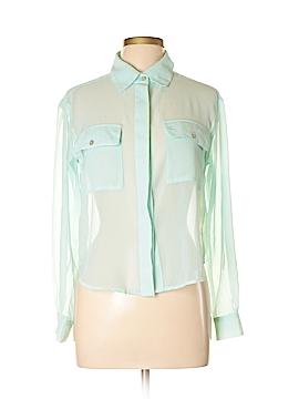 Cool Wear Long Sleeve Blouse Size L