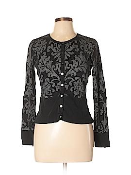 White House Black Market Silk Cardigan Size L