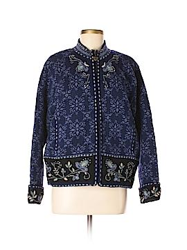 Icelandic Design Wool Cardigan Size L