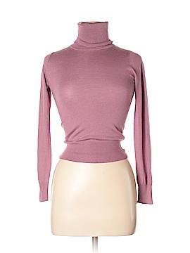 Zara Long Sleeve Silk Top Size S