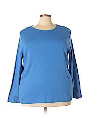 Lauren by Ralph Lauren Women Long Sleeve T-Shirt Size 3X (Plus)