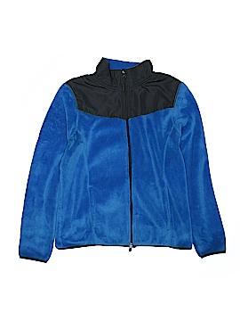 Danskin Now Fleece Jacket Size L (Youth)
