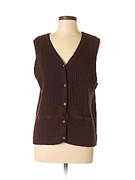 Sag Harbor Sweater Vest Size L