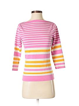 Isaac Mizrahi 3/4 Sleeve Silk Top Size S
