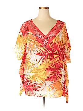 Avon Short Sleeve Blouse Size Lg - XL
