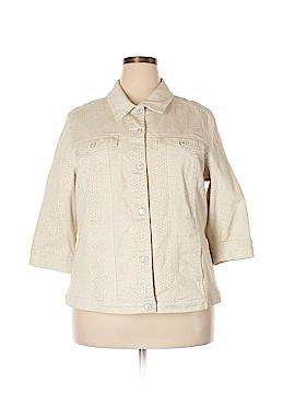 D&Co. Denim Jacket Size 1X (Plus)