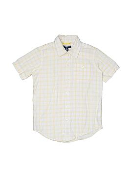 Gap Kids Outlet Short Sleeve Button-Down Shirt Size 6 - 7