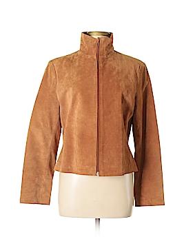 Andrea Viccaro Leather Jacket Size M