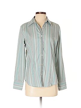 Van Heusen Long Sleeve Button-Down Shirt Size S
