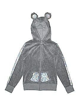 Justice Zip Up Hoodie Size 8