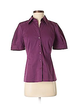 Ann Taylor LOFT Short Sleeve Button-Down Shirt Size 0