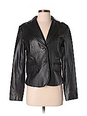 Casual Corner Women Leather Jacket Size S