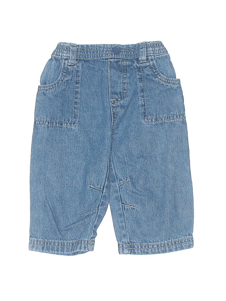 389945ab70 Disney 100% Polyester Solid Blue Denim Shorts Size 6-9 mo - 60% off ...