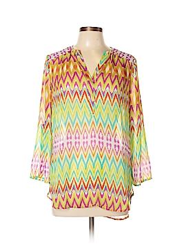Tacera 3/4 Sleeve Blouse Size M