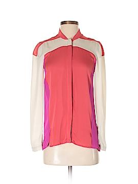 Ohne Titel Long Sleeve Silk Top Size 36 (EU)