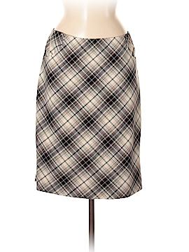 City Silk Casual Skirt Size 8