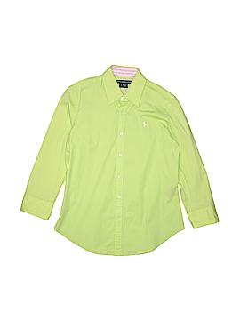 Ralph Lauren Sport Long Sleeve Button-Down Shirt Size 8