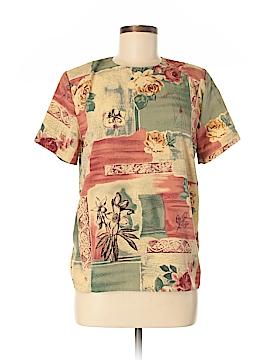 BEDFORD FAIR lifestyles Short Sleeve Blouse Size 8