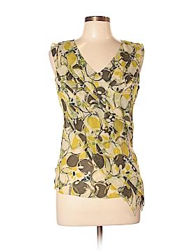 Ideology Short Sleeve Silk Top Size M