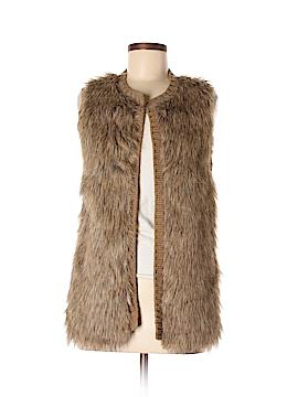 Xhilaration Faux Fur Vest Size L
