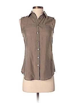 Van Heusen Sleeveless Button-Down Shirt Size XXS