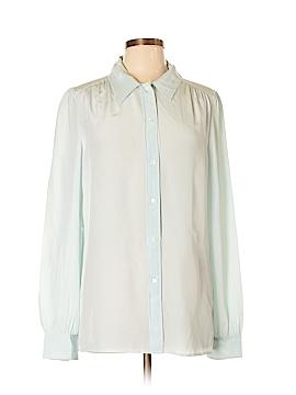 J. Crew Long Sleeve Silk Top Size 12 (Tall)