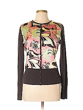 Tahari Silk Cardigan Size L