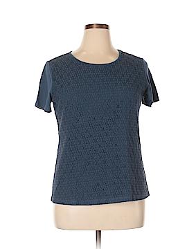 Laura Scott Short Sleeve Blouse Size XL