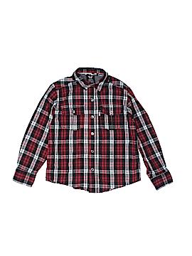 Shaun White Long Sleeve Button-Down Shirt Size X-Small  (Kids)