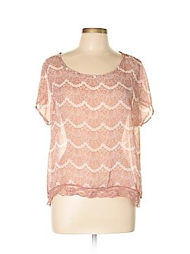 Robin K. Short Sleeve Blouse Size S