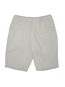 Arizona Jean Company Khaki Shorts Size 16 (Plus)
