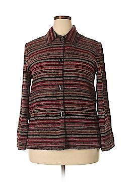 Sag Harbor Long Sleeve Button-Down Shirt Size 14