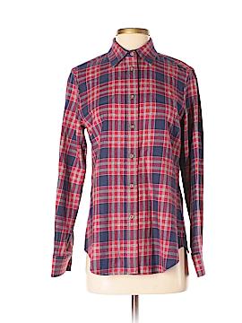 Harvey Faircloth Long Sleeve Button-Down Shirt Size 2