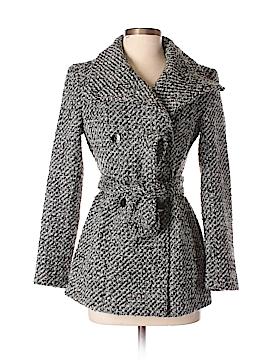 Calvin Klein Wool Coat Size 0 (Petite)