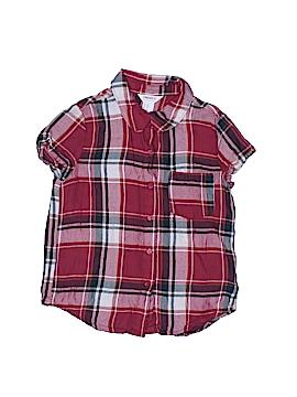 Forever 21 Short Sleeve Blouse Size 7 - 8
