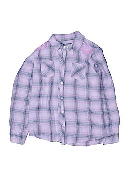 Nike Long Sleeve Button-Down Shirt Size 12