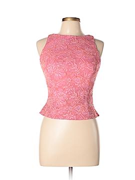Carmen Marc Valvo Sleeveless Blouse Size 10