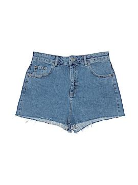 Topshop Denim Shorts Size 12