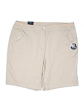 Karen Scott Khaki Shorts Size 18 (Plus)