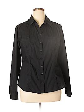 White House Black Market Long Sleeve Button-Down Shirt Size XL