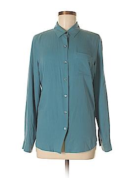 J.jill Long Sleeve Silk Top Size S