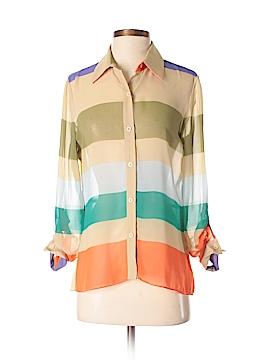 Cremieux Long Sleeve Blouse Size S