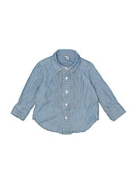 Baby Gap Long Sleeve Button-Down Shirt Size 18-24 mo