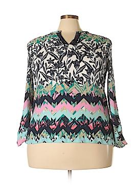 Rafaella Long Sleeve Blouse Size XL (Petite)