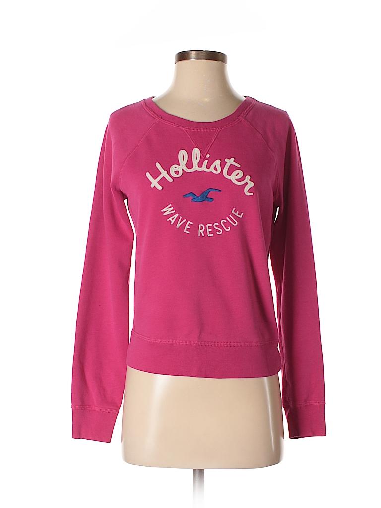 Pin it Hollister Women Sweatshirt Size S