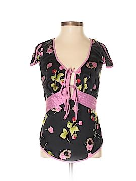 Betsey Johnson Sleeveless Silk Top Size 2